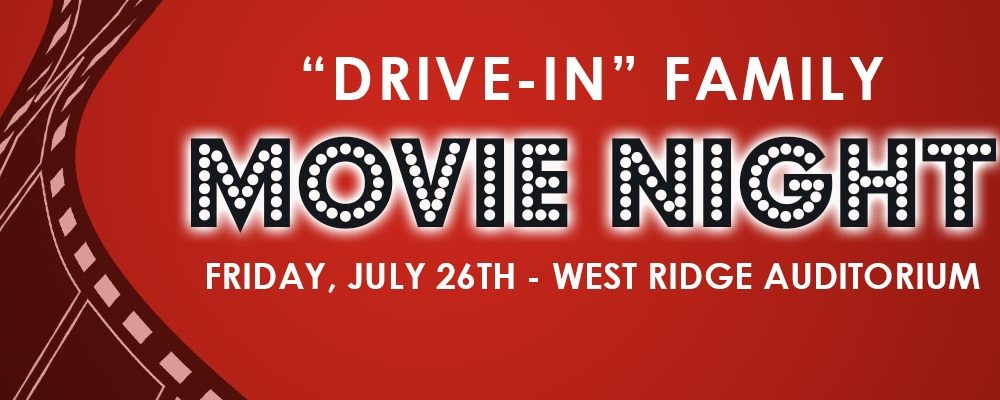 """Drive-in"" Family Movie Night"